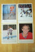 GUY LAFLEUR  1972 / 83 (4 DIFF) Dimanche Derniere Heure Montreal Canadiens  8X11
