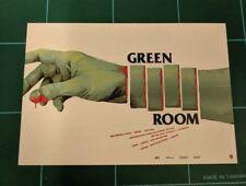 The Green Room Showcard Poster Art Mini Print Mondo Movie Oliver Barrett