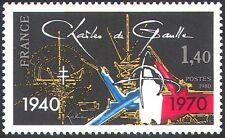 France 1980 Charles de Gaulle/People/Politics/Military/Animation 1v (n33434)