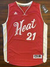 Rare Adidas 2015 NBA Christmas Day Miami Heat Hassan Whiteside Basketball Jersey