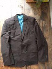 Costume marron Herringbone fischgrät Taillé Sur Mesure Suit Brown Bespoke UE 48 46