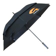 "Callaway Clean Logo 60"" Double Canopy 2016 Men's Golf Umbrella Black/White"