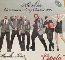CD PROMOTIONAL EUROVISION SERBIA 2009 CIPELA MARKO KON AND MILAAN