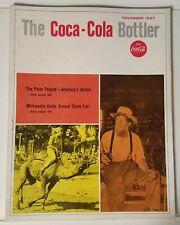 THE COCA-COLA BOTTLER - VINTAGE MAGAZINE - NOV. 1967