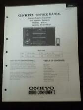 Onkyo Service Manual for the EQ-31 Graphic Equalizer ~ Repair Manual