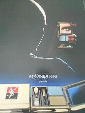 Publicité 1979  Yves Saint Laurent Fards à paupières  French AD