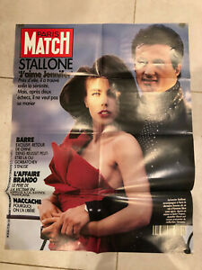 """RARE STALLONE POSTER French release Jenifer FLAVIN 1990s 30""""x24"""" $1.99 postage"""
