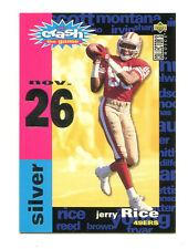 1995 Choice Crash the Game Insert #22 Nov 26 Jerry Rice San Francisco 49ers