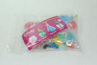 Disney PRINCESS JEWELS MINI FIGURE COLLECTION 6 CAKE TOPPERS COMPLETE SET VHTF