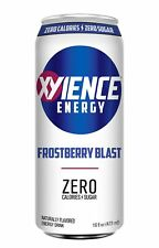 XYIENCE Energy Drink   Frostberry Blast   Sugar Free   Zero Calories   Natural