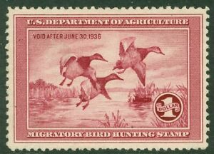 EDW1949SELL : USA 1935 Scott #RW2 Mint No Gum. Retail