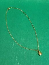 "18"" Chain Jewelry Teddy Bear Necklace in Great Condition"