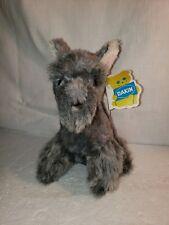 Dakin Schnauzer - Little Schnapps Grey Dog - 70's - Pillow Pets