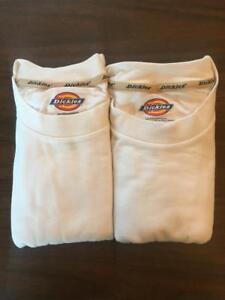 Dickies Mens Short sleeve Plain Tee Crewneck T-Shirt 2 PACK Style #113226 Medium