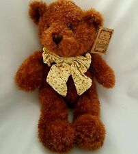 Russ Boo Crew Bears Teddy Wellesley Brown Plush Soft Stuffed Animal Toy 13""