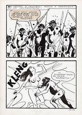 MILO MANARA - TAVOLA ORIGINALE JOLANDA