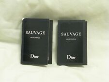 Dior 'Sauvage' Eau de Parfum EDP Mens Spray Vial Set of 2 NEW