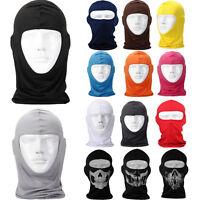 New Motorcycle Cycling Ski Snowboard Outdoor lycra Balaclava Full Face Neck Mask