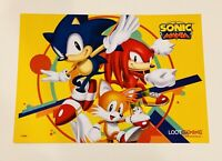 Sonic Mania The Hedgehog Print Loot Gaming Crate Exclusive March 2019 Sidekicks