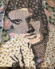 COACH ELVIS PATCHWORK OVERSIZED SQUARE SCARF LIMITED EDITION 26589