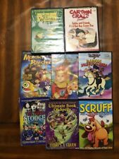 Lot Of 8 Cartoon DVDs