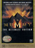 The Mummy - The Ultimate Edition (DVD, 2Disc Set, 2002, R4) - Used GC
