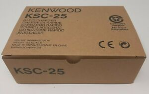 Kenwood KSC-25 Rapid Charger for battery packs KNB-24L 35L 25A 26N NEW