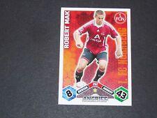 MAK 1. FC NÜRNBERG TOPPS MATCH ATTAX PANINI FOOTBALL BUNDESLIGA 2010-2011