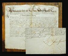 1790 Rochlitz Obergräfenhain Schuhmacher Schuster Schuhe Handgeschr. Urkunde