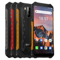 Rugged Smartphone Unlocked 4G Android 10 64GB IP68 Waterproof Face ID Cell Phone