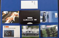 2003 BMW E46 Sedan 320i 325i 325xi 330i 330xi Owner Operators Manuals Set # S136