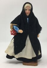 Vintage Collectors Character Doll Handmade by Jay of Dublin Flower Seller