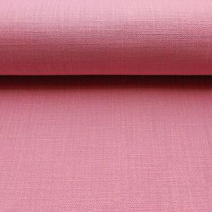 Premium pink canvas cotton fabric 140cm wide