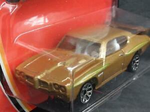 2004 Matchbox Treasure Inside #65 Pontiac GTO, Gold, MOC! F