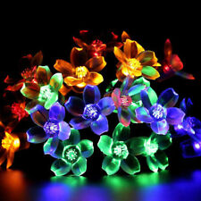 10-20LED Lights Flower Fairy Garden Party Christmas Decor Xmas String Lamps New