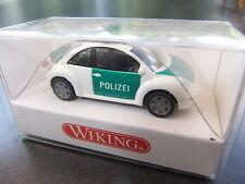 VW Beetle Polizei .. Wiking HO 1:87 #1200