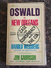 Oswald in New Orleans Harold Weisberg CIA and Kennedy Assassination PB 1967