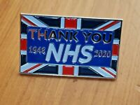 Thank You NHS Union Jack Flag Pin Badge Brooch Doctor Nurse Gift