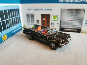 vintage corgi juniors batmobile bat mobile diecast matchbox