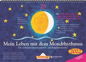 Mein Leben mit dem Mondrhythmus 2022 Tisch-Aufstellkalender von Edith Stadig