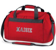 Accessori borsoni rossi in poliestere per bambine dai 2 ai 16 anni