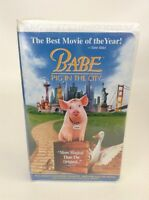 Babe Pig in the City (VHS, 2000) Babe II 2 New Sealed In Clamshell case