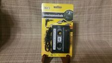 3.5mm Universal Car Audio Cassette Adapter for Smartphones Corded Mp3 Cd Vinyl