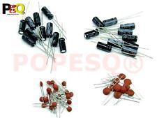 Kit Kondensatoren Capacitor für MCU  22pF ; 100nF ;  10uF ;  100uF Arduino #A48
