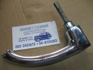 Hudson Door / Trunk Handle Vintage Chrome Square Push Button Car Door Handle