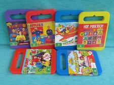 6 x THE WIGGLES DVDS WIGGLE TOWN FURRY TALES TAKING OFF PUMPKIN FACE BEST EMMA