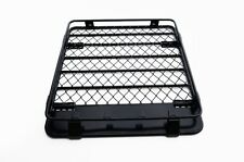 Heavy Duty Roof Rack Mount Basket Box Luggage Storage Carrier Cage Aluminium