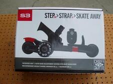 Cardiff Skate Co. Skates Youth S3 S3-001 Step Strap Skate Away Brand New Nib