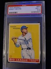 1933 Goudey Randy Moore #69 PSA 3.5 VG+ Check out my other listings!