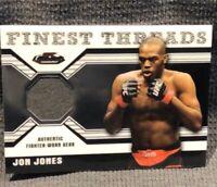 2011 Topps MMA Finest Threads Relic Card - Jon Jones - Trading Card - R-JJ - UFC